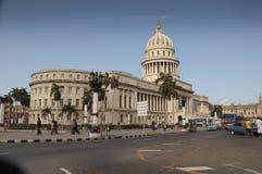 Den Capitolio byggnaden i havannacigarren, Kuba Arkivbild