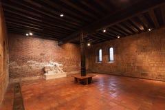 Den Capitular Hallen av helgonet Agnes Convent Royaltyfria Foton