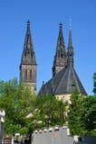 Den Capitular kyrkan av SS Peter & Paul Arkivfoto