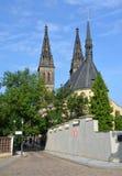 Den Capitular kyrkan av SS Peter & Paul Arkivbild