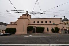 Den Carmelite kloster av Cristo Rey, San Francisco, 2 royaltyfria foton