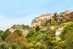 Den Castellet byn Arkivfoto
