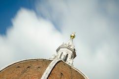 Den Cattedrale dien Santa Maria del Fiore (Florence Cathedral) var inien Arkivbild