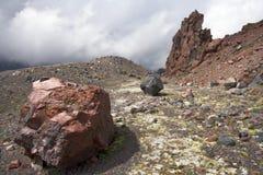 den caucasus mossrocken stenar dalen Royaltyfria Foton