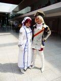 den center cosplay händelsen överträffar londons Arkivfoton