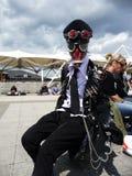 den center cosplay händelsen överträffar londons Arkivbild