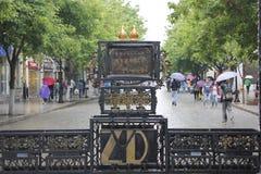 Den centrala gatan Royaltyfria Bilder