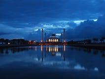 Den centrala moskén av Songkhla (centrala Masjid av Songkhla) Royaltyfria Bilder