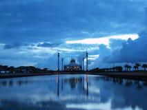 Den centrala moskén av Songkhla (centrala Masjid av Songkhla) Fotografering för Bildbyråer