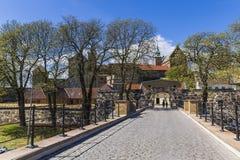 Den centrala porten Akershus Festning Fotografering för Bildbyråer