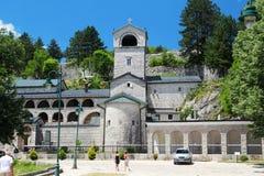 Den Cetinje kloster, Montenegro fotografering för bildbyråer