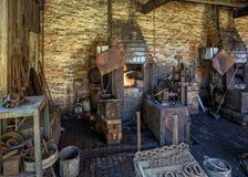 Den Chain danandet shoppar på det svarta landsbygdsboendemuseet Royaltyfri Bild