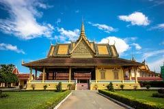 Den Chanchhaya paviljongen Royaltyfria Bilder