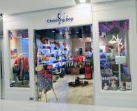 Den charmiga popet shoppar i Hong Kong Royaltyfri Bild