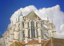 Chartres domkyrka Royaltyfri Fotografi
