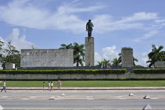 Den Che Guevara mausoleet i Santa Clara, Kuba Royaltyfria Bilder