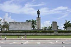Den Che Guevara mausoleet i Santa Clara, Kuba Arkivbilder