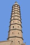 Chengtiansi Pagoda Arkivfoton