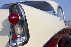 Den Chevrolet Bel Air svanen tänder Fotografering för Bildbyråer