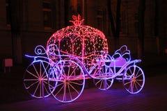 Den Cinderella vagnen Arkivfoton