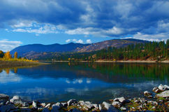 Den Columbia floden Royaltyfria Bilder