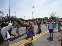 Den Coney Island sjöjungfrun 2013 ståtar 108 Arkivfoto