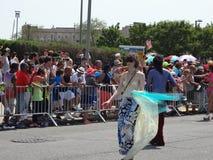 Den Coney Island sjöjungfrun 2013 ståtar 111 Royaltyfria Foton