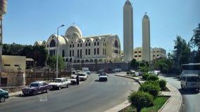 Den Coptic kyrkan Royaltyfri Foto