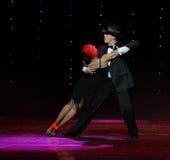 Den cowboydans-adagio- Österrike dansen för värld royaltyfri foto