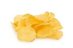 Den Crispy potatisen gå i flisor Royaltyfri Foto