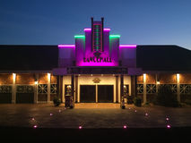 Den Dancehall teatern, Canobie sjön parkerar Royaltyfri Foto