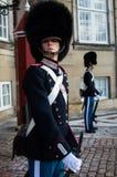 Den danska kungliga vakten royaltyfri foto