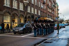Den danska kungliga vakten arkivfoton