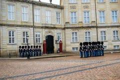 Den danska kungliga vakten arkivbild
