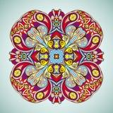 Den dekorativa rundan snör åt. Royaltyfri Bild