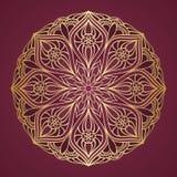 Den dekorativa rundan snör åt Royaltyfri Bild