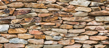 den dekorativa stenen surfaces väggen Fotografering för Bildbyråer