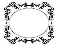 Den dekorativa vektorn inramar Arkivbilder