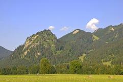 In den deutschen Alpen Lizenzfreie Stockfotos
