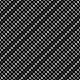 Den diagonala halvton pricker den sömlösa modellen för vektorn Cirkeltextur royaltyfri illustrationer