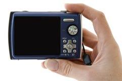 den digitala kameran ready Arkivfoton