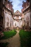 Den Discalced Carmelites kloster fördärvar Royaltyfri Foto