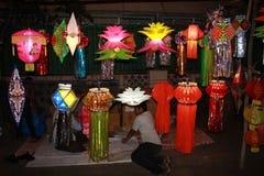 Den Diwali gatan shoppar Arkivbilder
