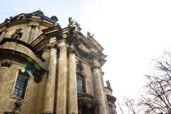 Den dominikanska kyrkan Arkivfoto