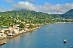 Den dominikiska oceanfronten beskådar 5 Arkivfoton
