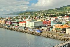 Den dominikiska oceanfronten beskådar 6 Royaltyfria Foton