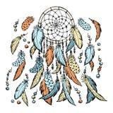 Den dröm- stopparen skissar illustratören för illustrationen för handen för borstekol gör teckningen tecknade som look pastell ti vektor illustrationer