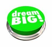 Den dröm- stora knappen hoppas planambitioner Arkivbilder