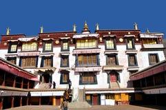 Drepung kloster Arkivbilder