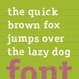 Den drog vektorhanden skissar alfabet litet Royaltyfria Foton